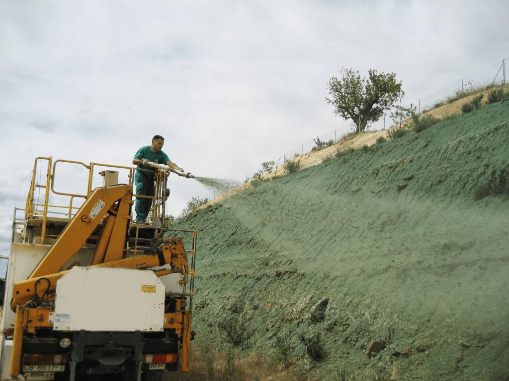 En la restauración convencional de taludes de carretera se priman los SSEE estéticos frente a todos los demás