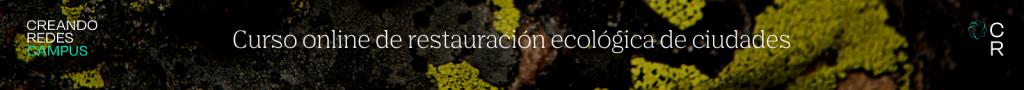 Curso restauración ecológica de ciudades
